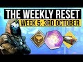 Destiny 2 | WEEKLY RESET! - Victory Faction, New Powerful Engrams, Nightfall & Vendors (3rd October)