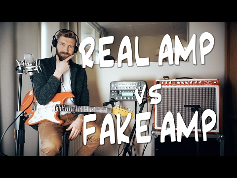 REAL amp vs FAKE amp | Kemper VS TUBE AMP!
