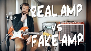 REAL amp vs FAKE amp   Kemper VS TUBE AMP!