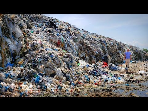 Massive Wave of GARBAGE - World's largest garbage dumps