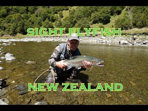 SIGHT FLYFISHING- DRY FLY FISHING NEW ZEALAND