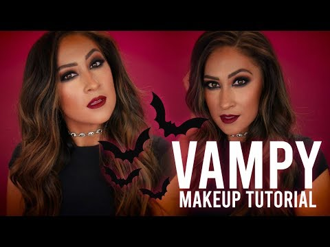 VAMPY MAKEUP TUTORIAL // FALL SMOKEY EYE // BRITNEY TERMALE thumbnail