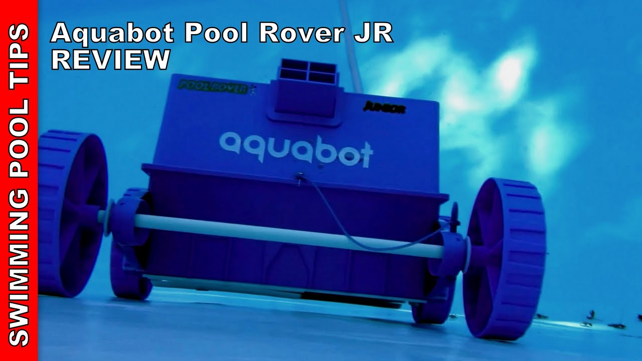 fd58b05a19 Aquabot Pool Rover Junior Robotic Above-Ground Pool Cleaner - YouTube