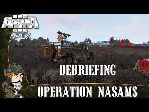 """Arma 3 Coop: """"NASAMS"""" Débriefing"""