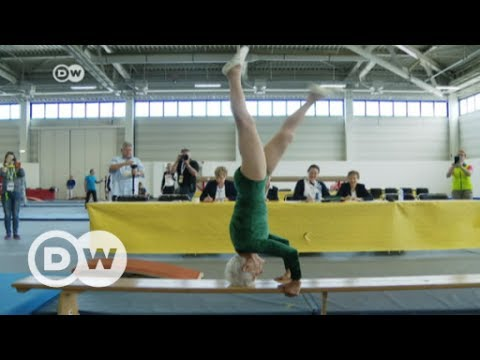 91-year-old gymnast leaps over competition | DW English
