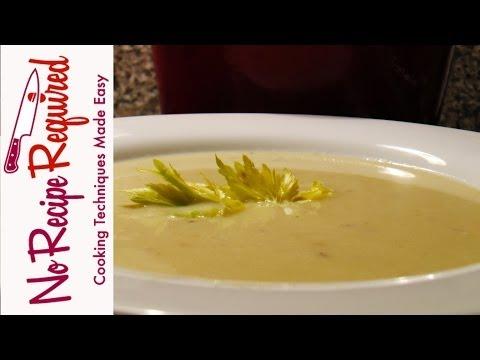 Cream Of Celery Soup - NoRecipeRequired.com