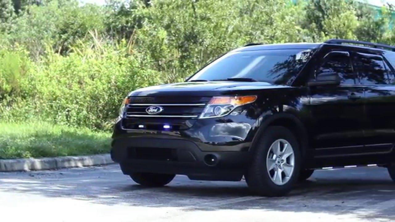 HG2 Emergency Lighting | Ford Explorer Unmarked Police ...