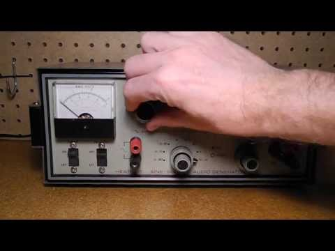 The Heathkit IG-18 Sine-Square Audio Generator