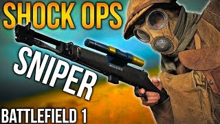 BATTLEFIELD 1 SHOCK OPERATIONS SNIPING BF1 Shock Ops gameplay update