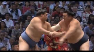 Sumo -Nagoya Basho 2017  Final Day PROPER, July 23rd  -大相撲名古屋 2017年 千秋楽