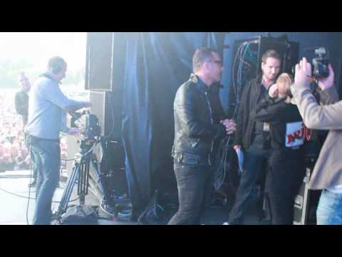 Backstage NRJ in the Park 2011