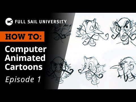 How To: Create A Computer Animated Cartoon – Visual Development | Full Sail University