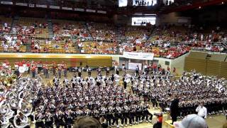 OSUMB at Skull Session 9/3/2011 vs. Akron. Across the Field  2.