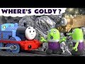 Funny Funlings Fun Story for kids - Where's Goldy the Good Luck Engine with Thomas and Friends