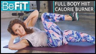 Full Body HIIT Calorie Burner Workout: Kara Griffin