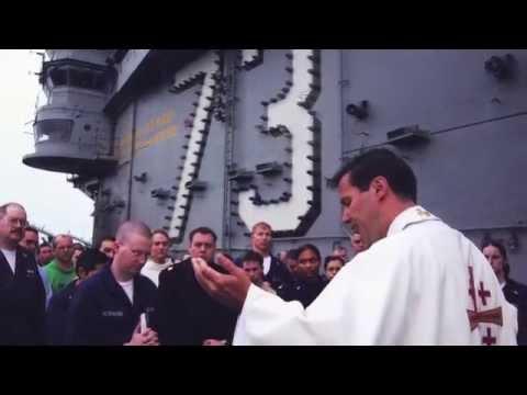 Navy Chaplain -- Father Joe Coffey