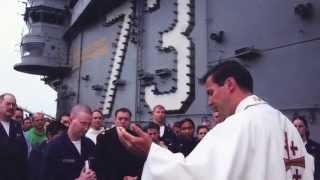 Navy Chaplain -- Father Joe Coffey