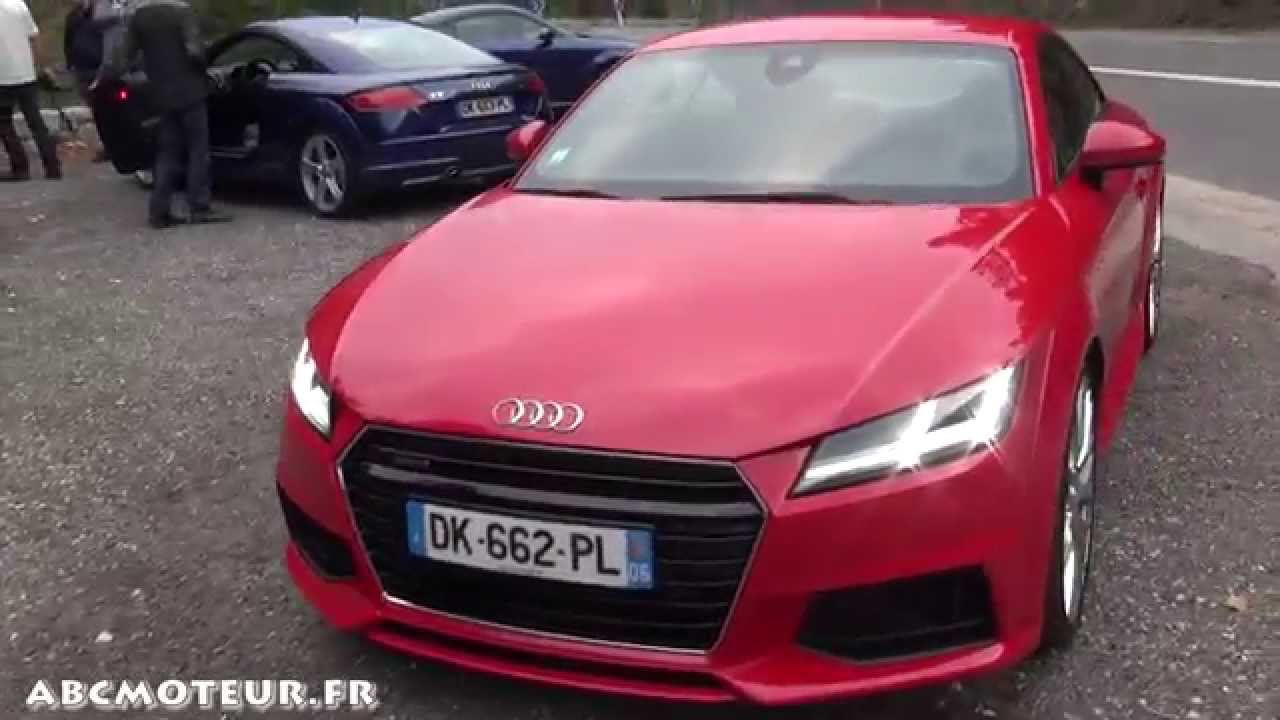 audi tt tfsi 230 tdi 184 pr sentation ext rieure int rieure exhaust sound youtube. Black Bedroom Furniture Sets. Home Design Ideas