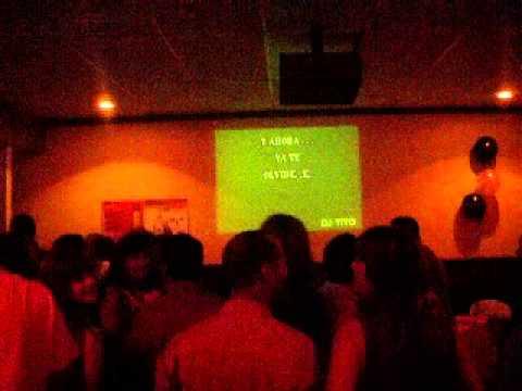 Karaoke pub en Condado. Plaza del Mercado. Puerto Rico.