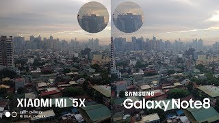 Xiaomi Mi 5X vs Galaxy Note 8 Comparison - $200 vs $1000 Camera Review
