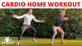 CARDIO HOME WORKOUT | FITINSANE | 2020