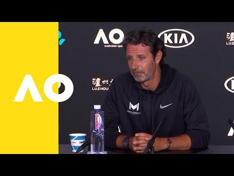 Patrick Mouratoglou (Coach Of Serena Williams) Press Conference (4R) | Australian Open 2019