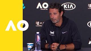 Patrick Mouratoglou (Coach of Serena Williams) press conference (4R) | Australian Open 2019 Video