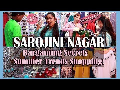 Sarojini Nagar: How to Bargain/Shop like a PRO!