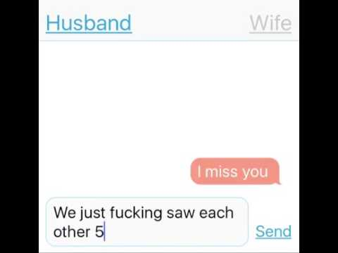 conversation between husband and wife