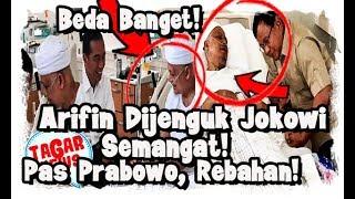 Dibesuk Jokowi, Arifin Ilham Semangat, Didatangi Prabowo, Arifin Rebahan