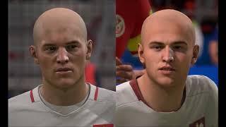 FIFA 18 World Cup 2018 | Kamil Glik and Michał Pazdan face update