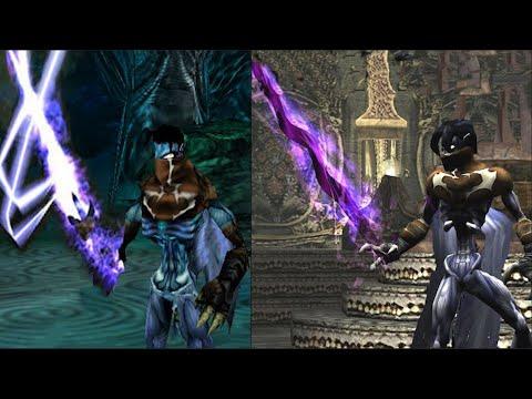 Legacy Of Kane/Soul Reaver Games Evolution (1996 - 2015)