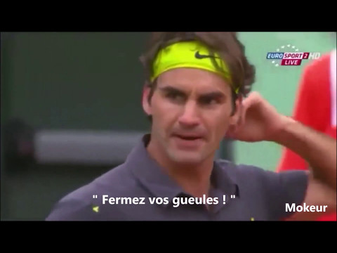 Quand les joueurs de tennis se clashent #2