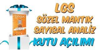 LGS Sözel Mantık Sayısal Analiz Kutu Açılımı 🎁
