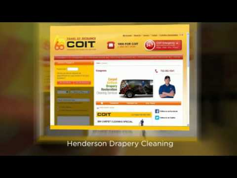 COIT Cleaning and Restoration of Henderson - Upholstery Cleaning Henderson