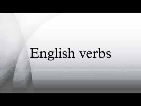 English verbs