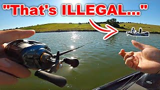 I got CALLED OUT for CHEATING in a Fishing Tournament!!! (Jealousy)