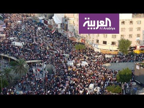 مائدة ساحة التحرير تجمع المتظاهرين على أطباق الثورة  - 15:56-2019 / 11 / 7