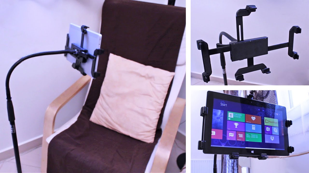 Tablet Tripod Mount Stand Universal And Adjustable