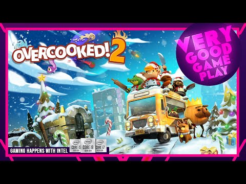 "Very Good Game Play | ""Overcooked 2"" - Christmas DLC |"