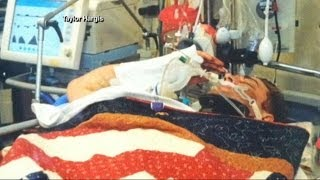 Hospitalized Soldier, Thought to Be Unconscious, Surprises With Salute thumbnail