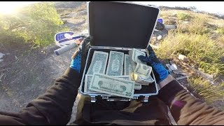 FOUND A BRIEFCASE FULL OF MONEY!