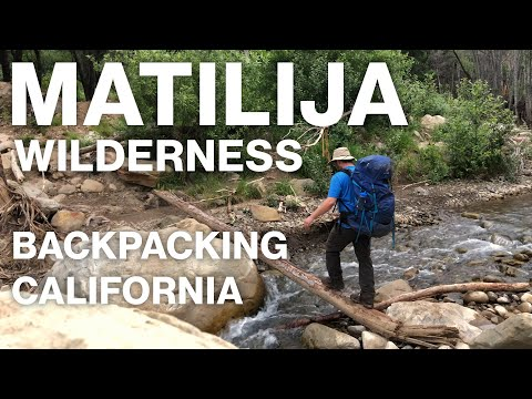 Matilija Wilderness California - Backpacking In Los Padres National Forest