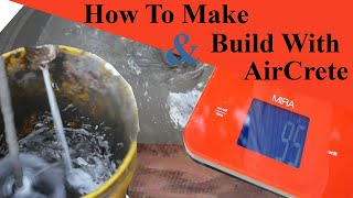 How To Build Your Aircrete Tiny House