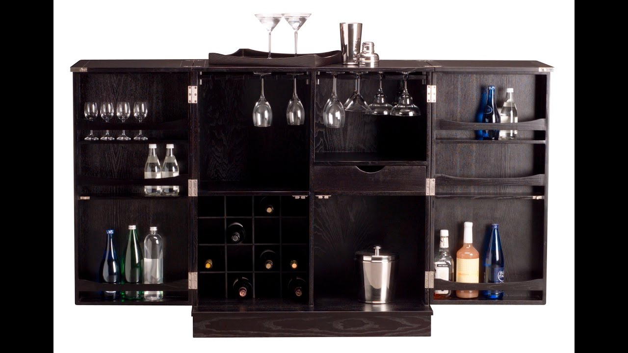 Small Bar Cabinet Ideas - YouTube