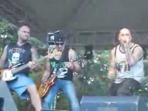 Action -  Összeomlás 2013. MetalWar Feszt.