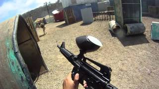 One of HECZWE's most viewed videos: Scrapyard COD XP - Paintball with GO PRO HD HERO