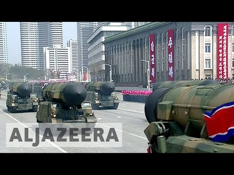 Thumbnail: North Korea showcases new missiles at military parade