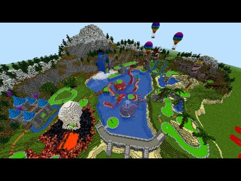 Minecraft All Sports Golf Battle!