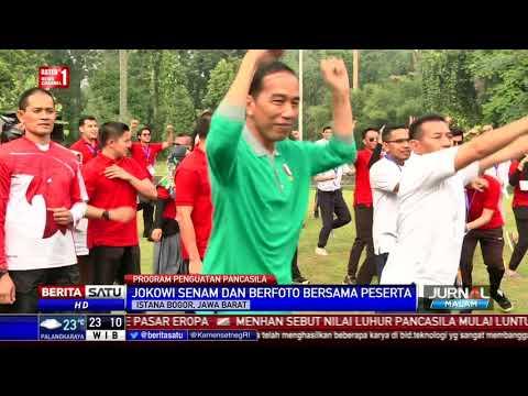 Presiden Jokowi Ikuti Senam Pagi Bersama Warga Mp3